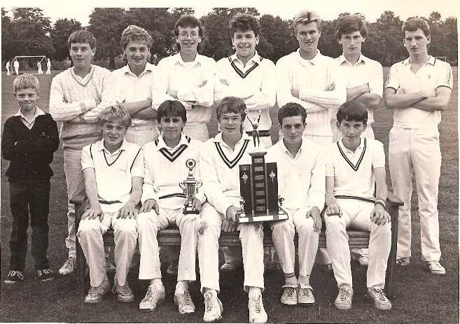 Noel Banks Cup Winners 1986