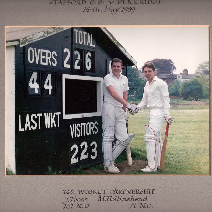 Stafford CC 1989 Record