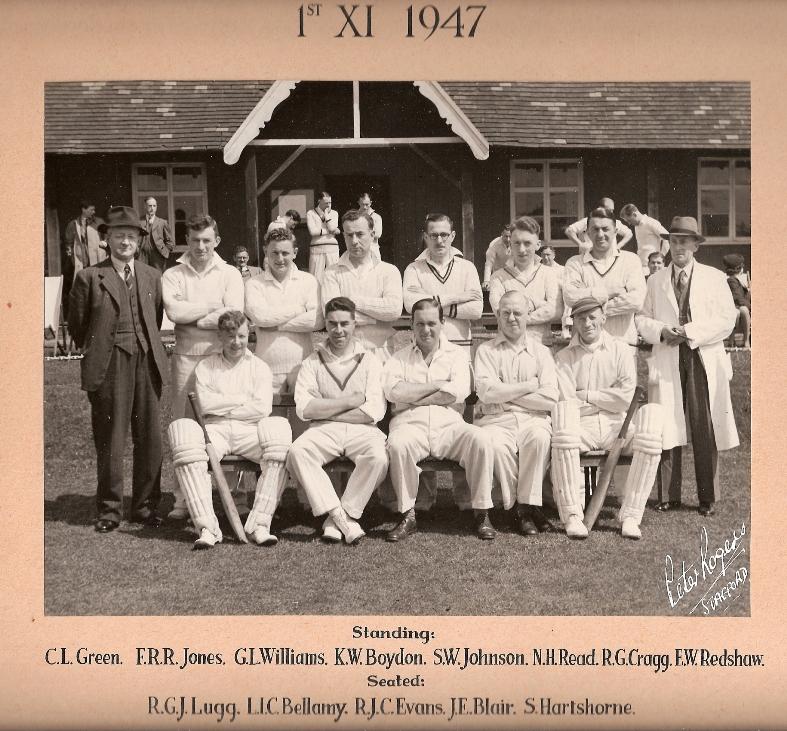 Stafford CC 1st XI 1947