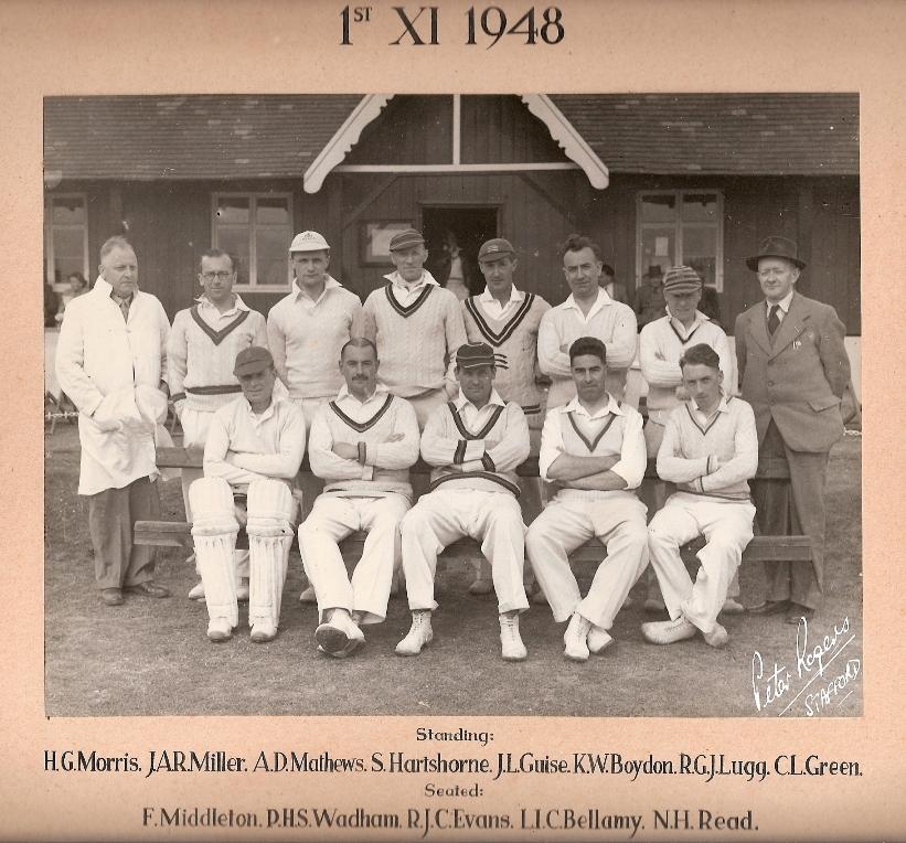 Stafford CC Ist XI 1948
