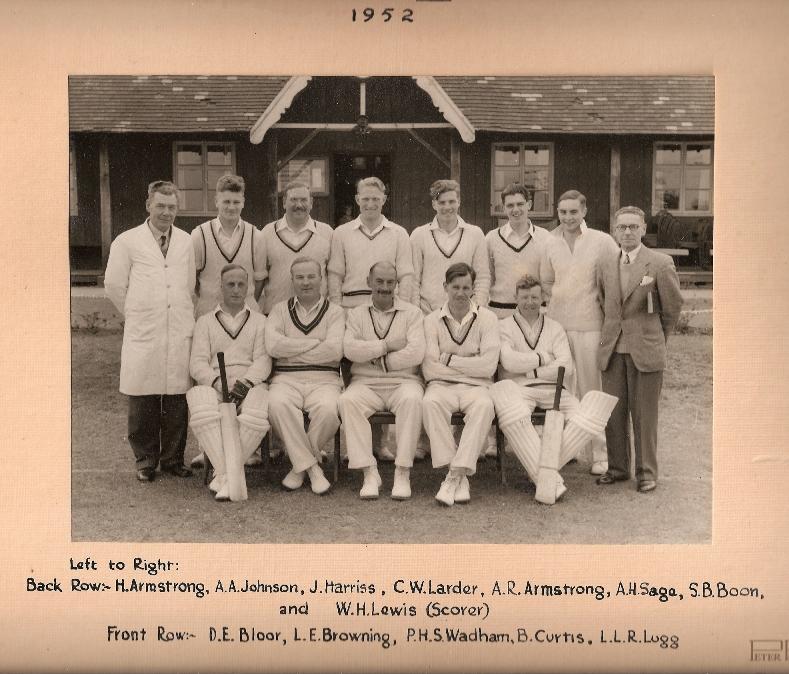 Stafford CC 1st XI 1952