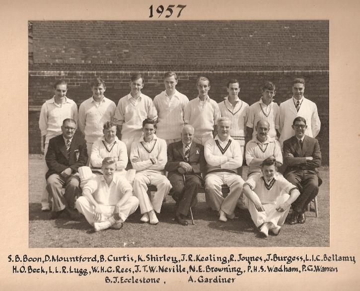 Stafford CC 1st XI 1957