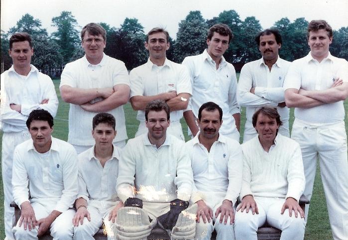 Stafford CC 1st XI 1990