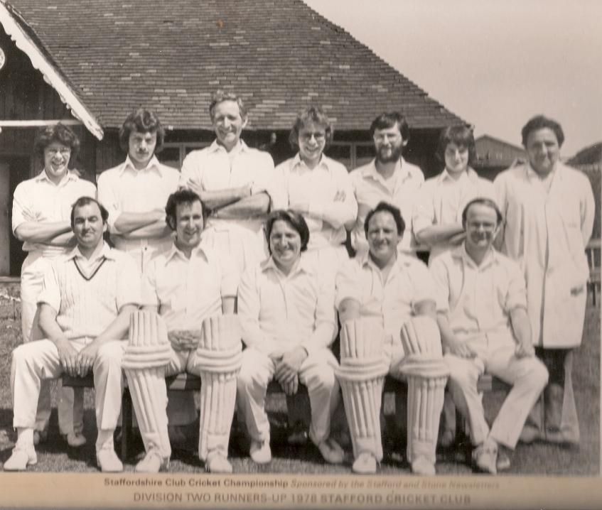 Stafford CC 2nd XI 1978