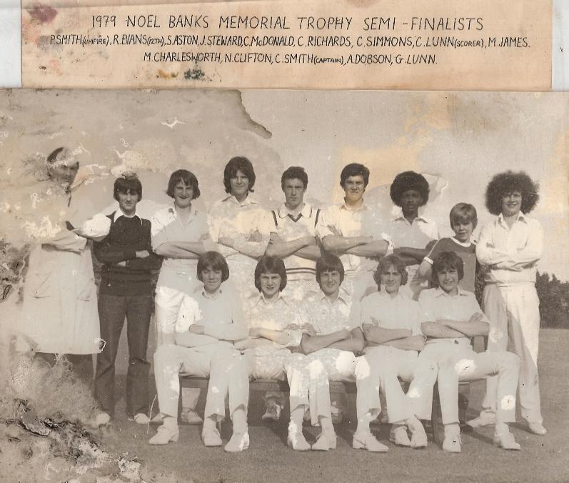 Stafford CC U18's 1979