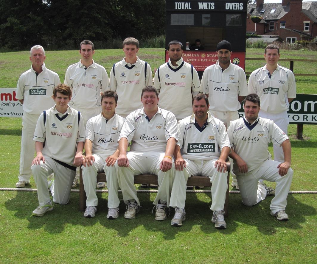 Stafford CC 1st XI 2011