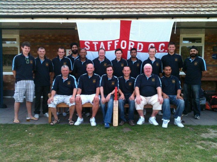 Stafford CC Tour Squad 2011