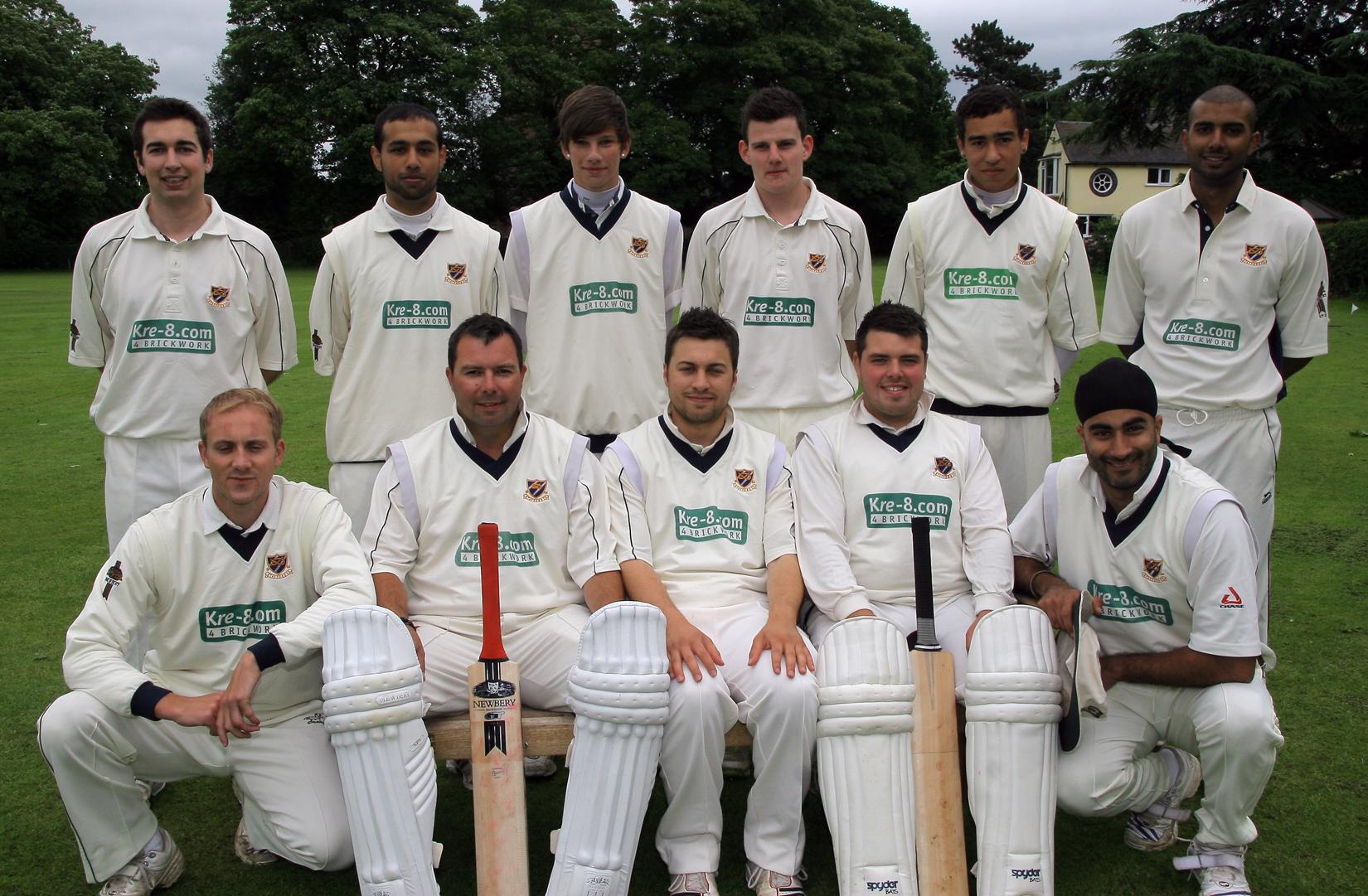 Stafford CC 1st XI 2012