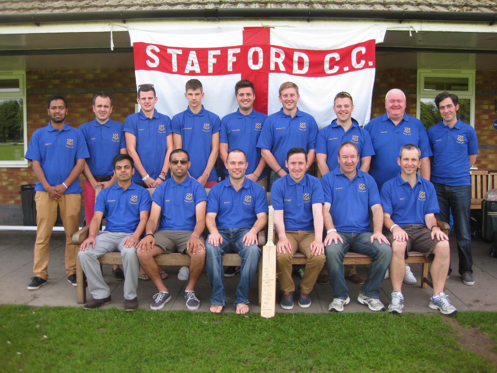 Stafford CC Tour 2013