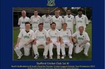 Stafford 1st XI 2013