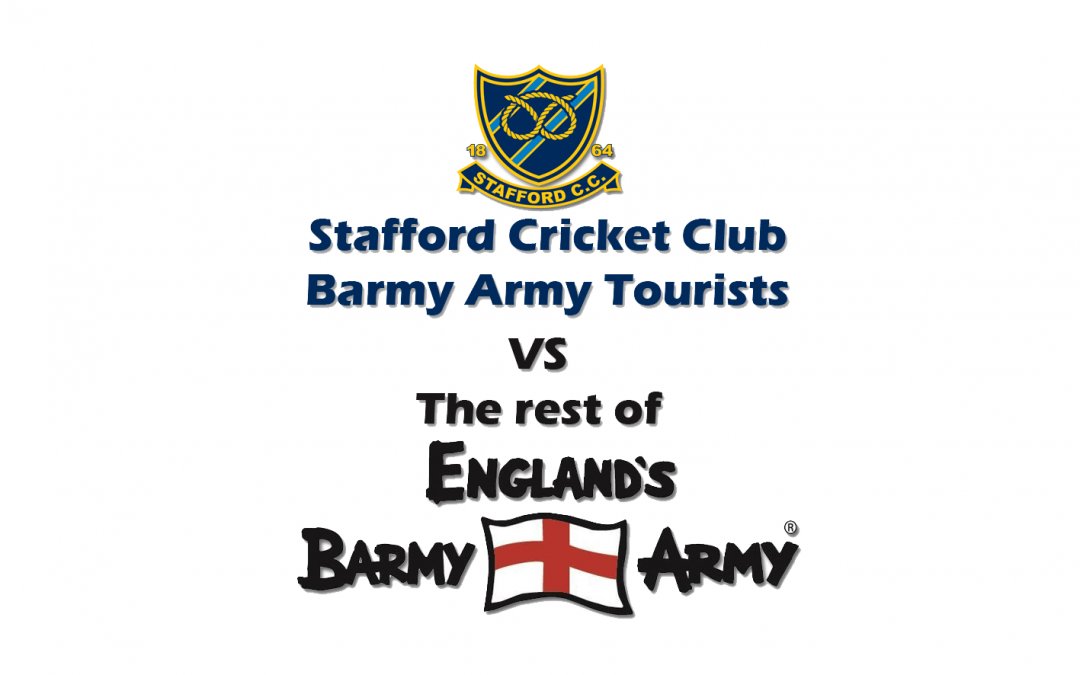 Barmy Army Charity Fixture 2017